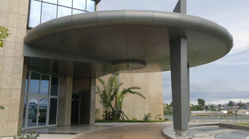 Construction B.E.A.C Agence Libreville 1