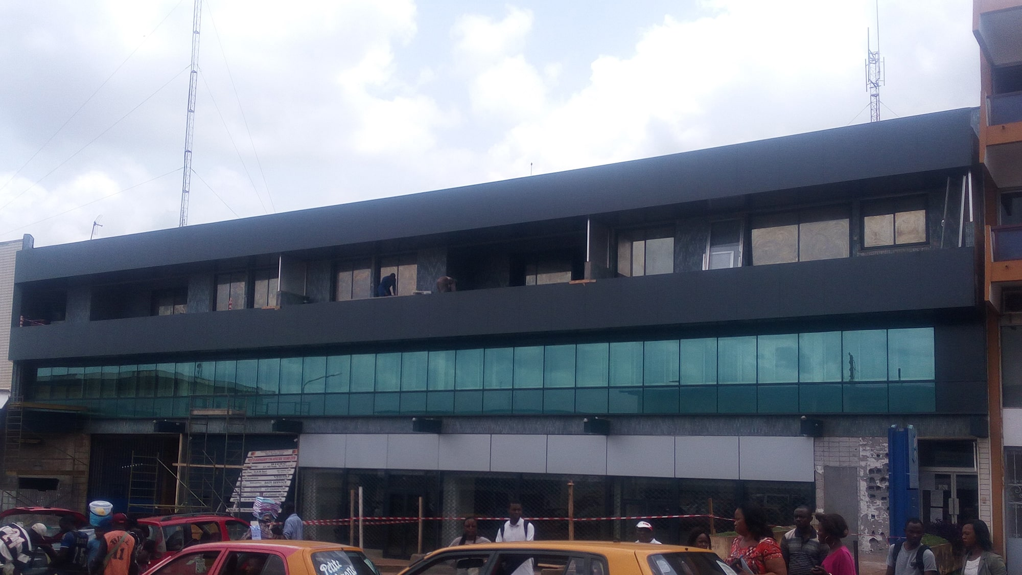 Projet de réaménagement BICEC centre à Yaoundé 1