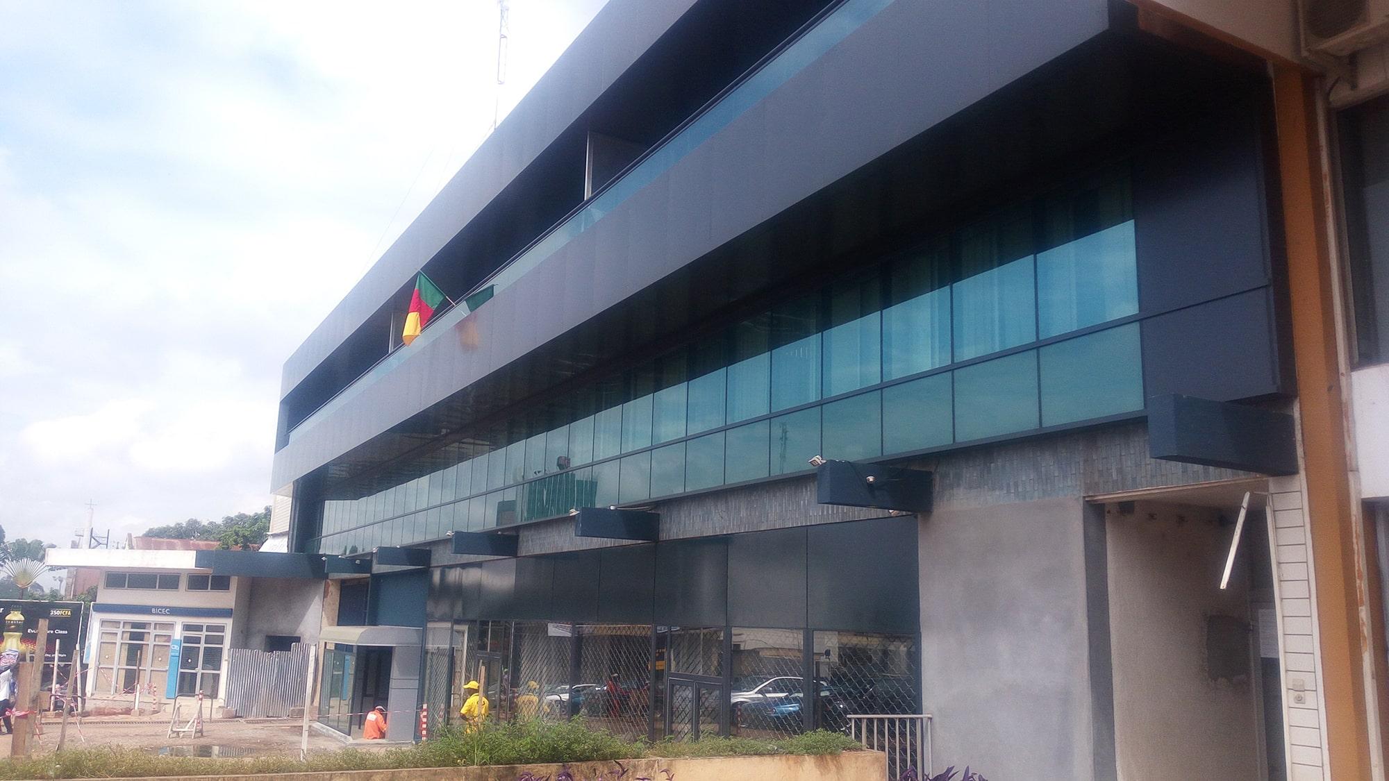 Projet de réaménagement BICEC centre à Yaoundé