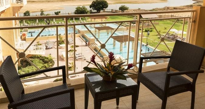 Hôtel HILTON à N'Djamena : Menuiseries Extérieures Aluminium 1