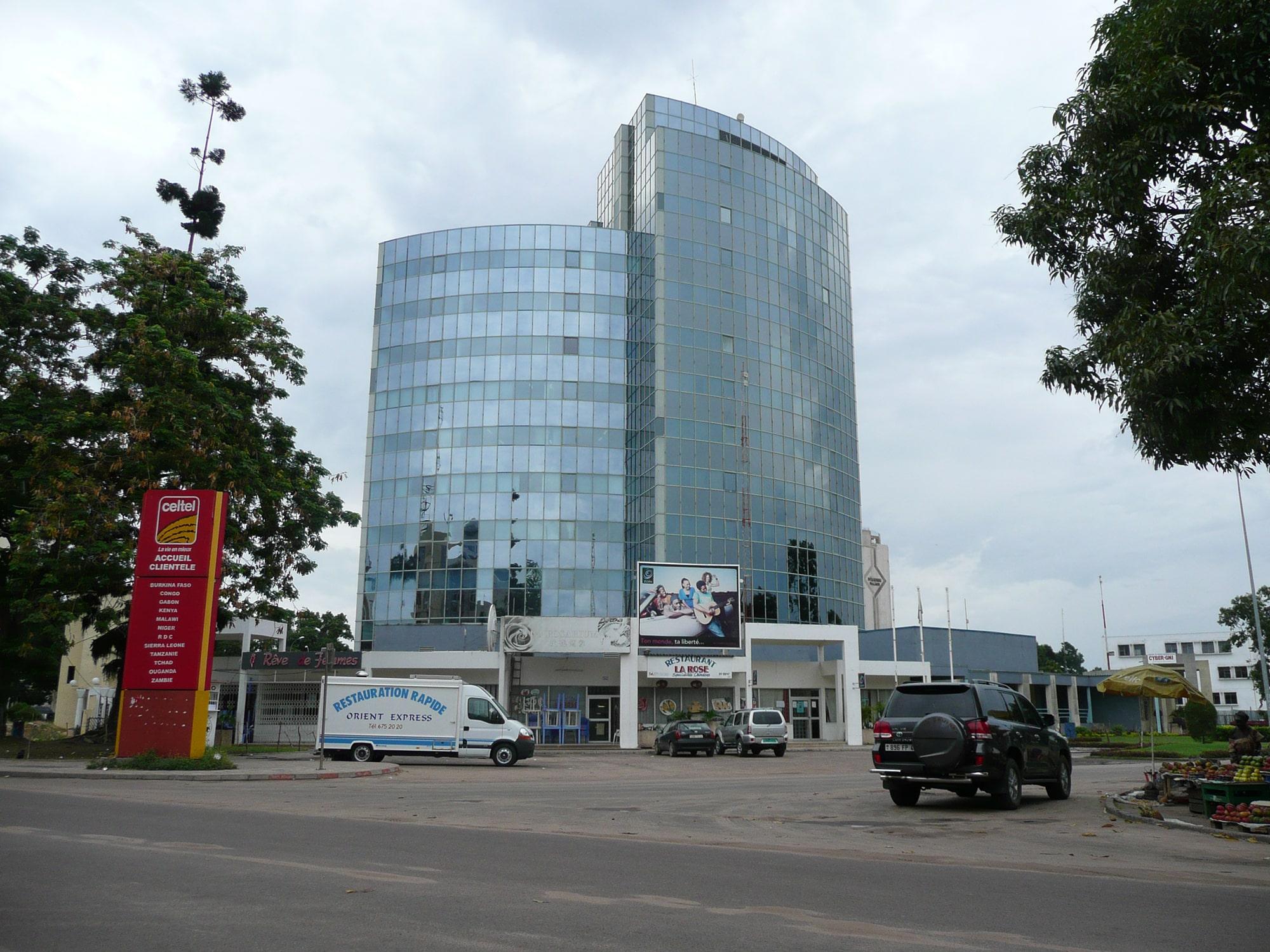 façades verre: Siège A.R.C Congo Brazzaville