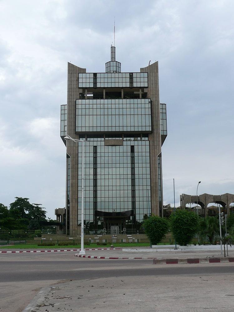 façades verre : Siégé B.E.A.C Congo Brazzaville 4