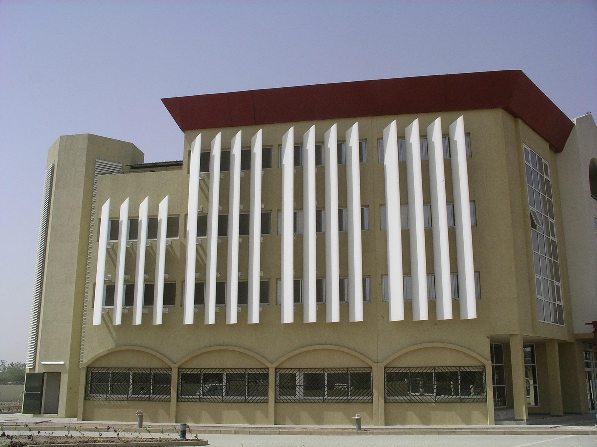 Siège De La Cebevirha N'djamena : Menuiseries Ext. AluBrise Soleil 4